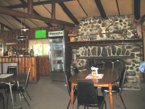Wausota rustic lodge