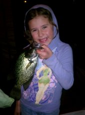 Everyone Catches Fish at Wausota Resort